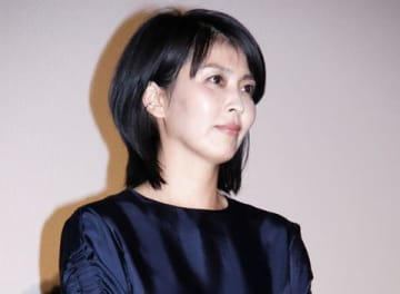 映画「来る」の初日舞台あいさつに登場した松たか子さん