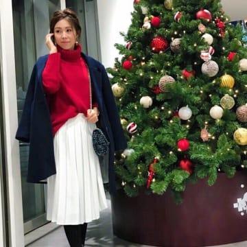クリスマスカラーのレッドをコーデに効かせよう♥ 赤MIXで気分が上がるクリスマスの着こなし10選