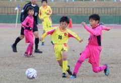 福山で山陽親善少年サッカー決勝