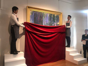 モネ、ゴッホなど4作品が登場 クリスティーズ、上海で先行展示
