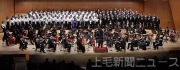 群響と協演第九高らか 高崎で演奏会