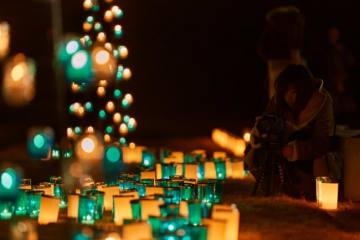 約2,000個のキャンドルが照らす「キャンドルナイト」が滋賀竜王で開催!