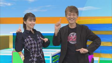 「アニゲー☆イレブン!」の第166回に登場するLynnさん(左)と白倉伸一郎プロデューサー=BS11提供