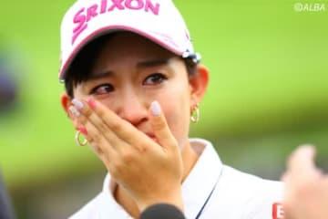 涙の初優勝大会で香妻琴乃に訪れた印象に残る一打は?(撮影:村上航)