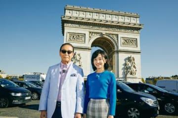 「ブラタモリ」2019年2月16日放送の「パリの美 ~パリはなぜ華の都になったのか?~ 」の一場面 (C)NHK