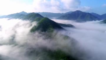 陽明山、仙境さながらの冬景色 湖南省永州
