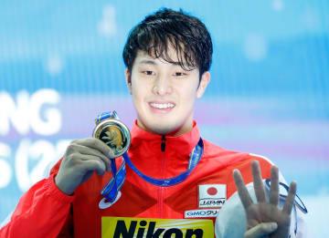 瀬戸大也、400個人メドレーで優勝 競泳世界短水路