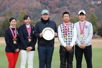 フューチャーゴルフツアーで大槻智春が勝利!(撮影:ALBA)