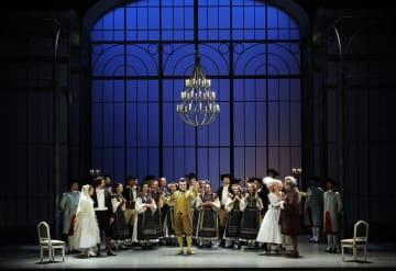オペラ「フィガロの結婚」の一場面