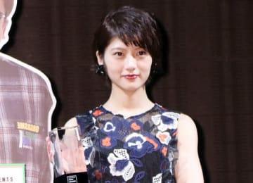 ニュースサービス「LINE NEWS」のイベント「NEWS AWARDS 2018」に出席した「乃木坂46」の若月佑美さん