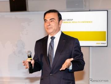 ルノーグループのカルロス・ゴーン会長兼CEO