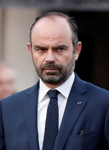 フランスのフィリップ首相(ロイター=共同)