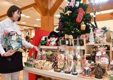 大切な人に思い込めた一品 県内、クリスマス商戦が本格化