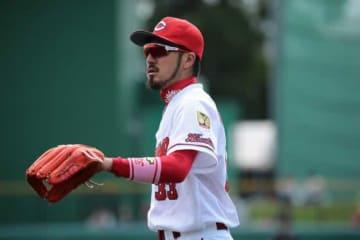 球界を代表する二塁手となった広島・菊池涼介【写真:荒川祐史】