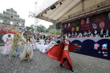 「マカオ・インターナショナル・パレード2018」(写真:GCS)