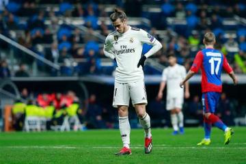 CSKA戦では大敗したレアル photo/Getty Images