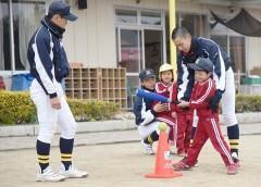 県内でティーボール教室本格化