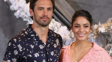 Vanessa Hudgens & Milo Ventimiglia Shine At Photo Call For New Film 'Second Act'
