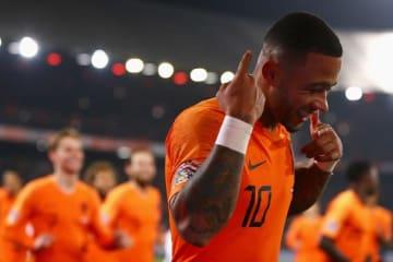 オランダ代表でも活躍するデパイ photo/Getty Images