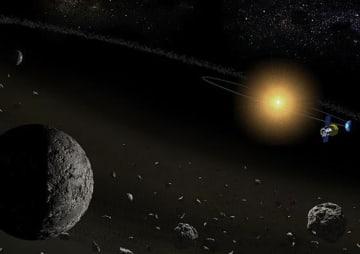 17개 소행성에서 '물' 확인