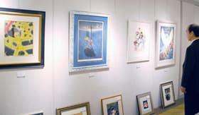 さっぽろ東急百貨店で開かれている「昭和の漫画家作品展」