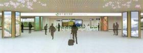 26日に全面リニューアルするJR新千歳空港駅のイメージ図