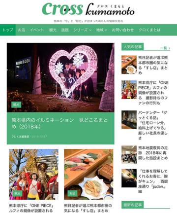 「crosskumamoto」のトップページ