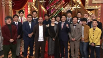 22日放送のNHKの番組 「時事ネタ王2018 ~ニュース VS 芸人~」の出演者 (C)NHK