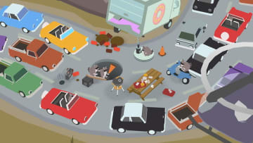 大きな穴がすべてを飲み込む『Donut County』PS4/スイッチ向けにも国内配信―穴の下にはなにがある?