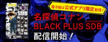『名探偵コナンBLACK PLUS SDB(スーパーダイジェストブック)』(c)青山剛昌/小学館 (c)CYBIRD