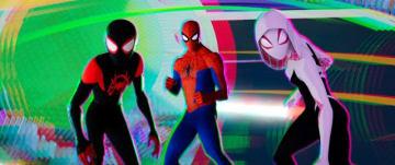 いろんなスパイダーマンが集結! - 映画『スパイダーマン:スパイダーバース』より