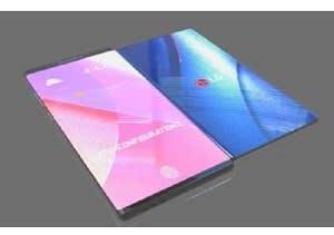 LGのHPよりコンセプトモデル「G Flex X Foldable Smart phone 8.5インチ」