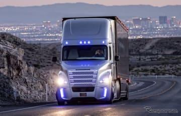 ダイムラーは2015年、米国ネバダ州で世界初の自動運転トラックの公道テストを実施した