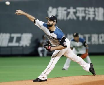 Baseball: Fighters re-sign 10-game winner Martinez