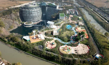 上海「地下ホテル」エリアに親子で楽しむテーマパーク登場