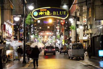 広島中央署が違法な客引きの摘発に力を入れている広島市中区の歓楽街(画像の一部を修整しています)