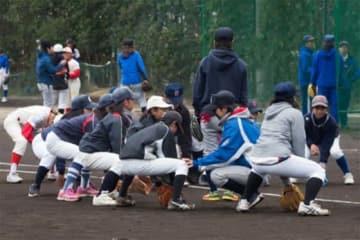 女性を対象にした野球教室「SAMURAI BASEBALL FESTA」の様子【写真提供:竹村裕児】
