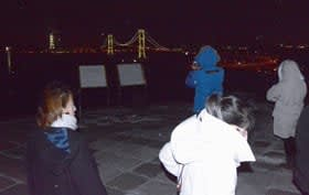 中国旅行会社の関係者らが夜景観光の可能性を感じ取った道の招へい事業