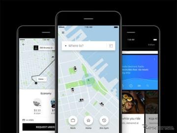 Uber アプリ