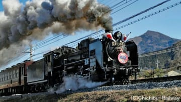 秩父鉄道 蒸気機関車C58363復活!