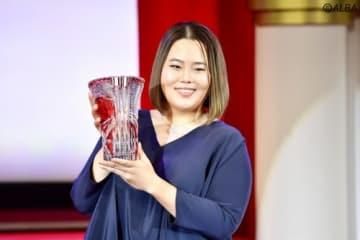 4季ぶり4度目の賞金女王となったアン・ソンジュ(撮影:上山敬太)