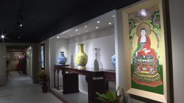 景徳鎮磁器の逸品、香港でお披露目