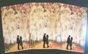 光のページェントの魅力を伝える今年のカード