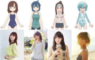 TVアニメ『上野さんは不器用』追加キャスト(C)tugeneko・白泉社/上野さんは不器用製作委員会