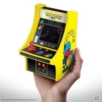 ミニ筐体ゲーム機「レトロアーケード」がゲオにて先行販売!「パックマン」「ギャラガ」「ディグダグ」の3種で展開