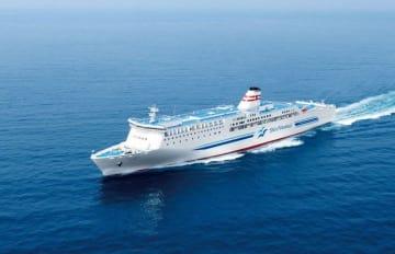 横須賀-北九州間に就航するものと同じタイプのフェリー