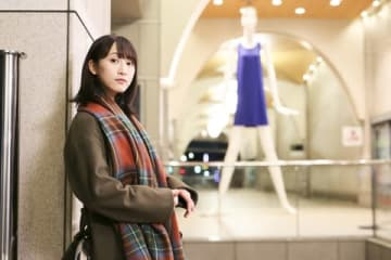 松井玲奈さんが出演する「名古屋行き最終列車 2019」のビジュアル=メ~テレ提供