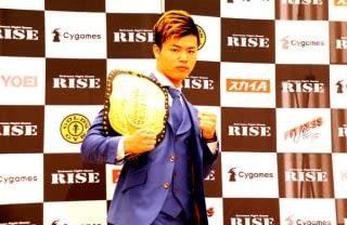大みそかRIZINのメイウェザー戦の次は、優勝賞金1000万円のRISE世界トーナメントに出場する那須川天心
