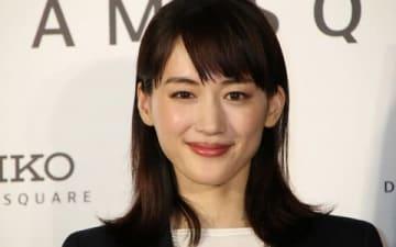 「セイコードリームスクエア」のオープン記者発表会に登場した綾瀬はるかさん