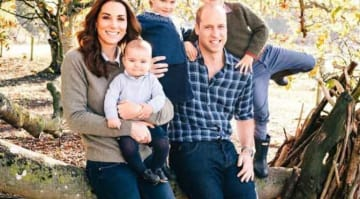 Prince William & Kate Middleton's Christmas Card Spotlights Young Family [PHOTOS]